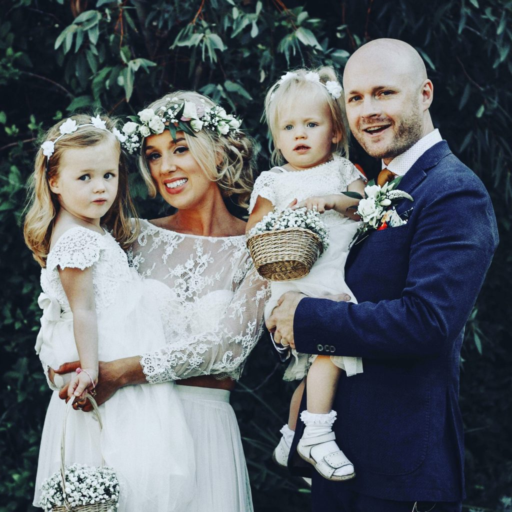 Family Boho Themed Wedding